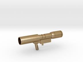 Megatron Gun in Polished Gold Steel