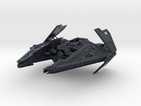 Sith Fury Interceptor (Wings Open) 1/270 in Black PA12