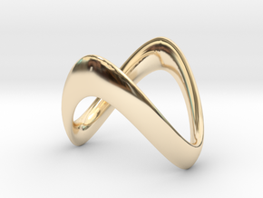 Valor (Inside diameter 16.6 mm) in 14K Yellow Gold