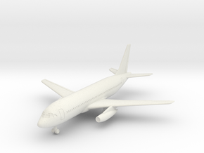 Dassault Mercure w/Gear (CW) in White Natural Versatile Plastic: 6mm