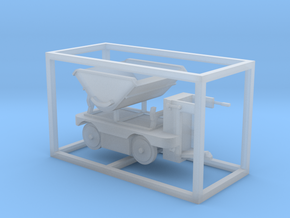 E-Karren Zweiseitenkipper - 1:120 TT in Smooth Fine Detail Plastic