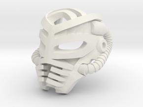 Great Mask of Aging (Makuta) in White Natural Versatile Plastic