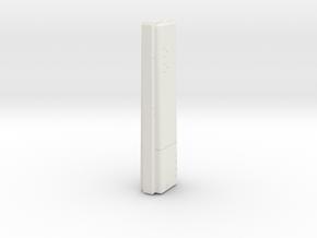 LOGH Imperial Wilhelmina 1:3000 (Part 1/2) in White Natural Versatile Plastic