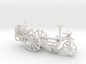 Motorpflug V3 mit Grfplt. - 1:35 in White Natural Versatile Plastic