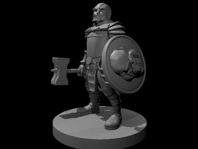 Animated Dwarven Armor in Smooth Fine Detail Plastic