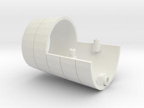1/350 R class Zeppelin L32 (LZ74) Part 11 in White Natural Versatile Plastic