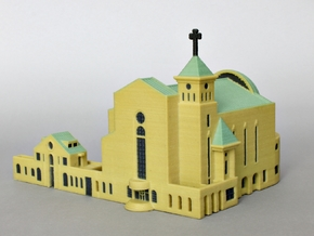 Suseo Cathedral color in Glossy Full Color Sandstone