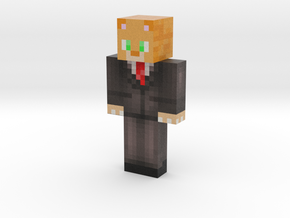 Fire_Blazer7 | Minecraft toy in Natural Full Color Sandstone