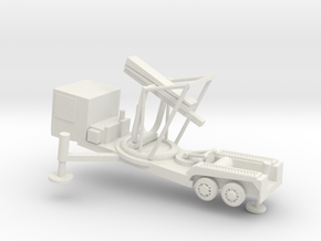 1/72 Scale M504 Missile Launcher in White Natural Versatile Plastic