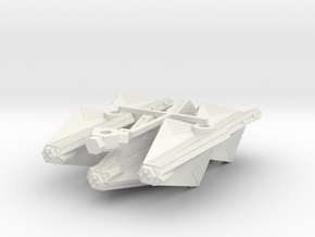 3788 Scale Tholian War Cruisers (3) SRZ in White Natural Versatile Plastic