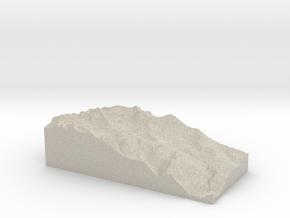 Model of Köner Haus in Natural Sandstone