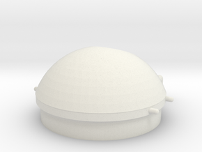 External Tank Bottom in White Natural Versatile Plastic