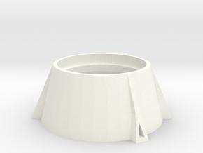 Estes Solid Booster_skirt in White Processed Versatile Plastic