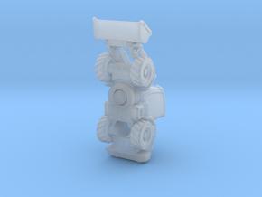 JCB417 bucket loader in Smooth Fine Detail Plastic: 1:200
