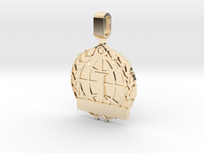 CS:GO Tournament Medallion - 1st Place in 14k Gold Plated Brass