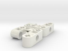 Radträger in White Natural Versatile Plastic