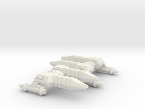 3125 Scale Lyran Cheetah Frigates (2) CVN in White Natural Versatile Plastic