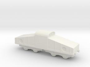 alvf ww1 armoured loco in White Natural Versatile Plastic