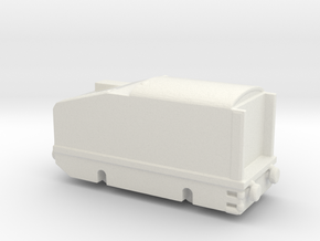 alvf ww1 armoured loco 1/285 6mm in White Natural Versatile Plastic