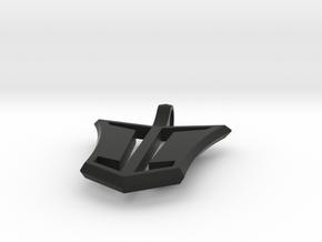 Funnel Cloud in Black Natural Versatile Plastic
