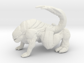 Gears of War Pouncer 1/60 miniature for games rpg in White Natural Versatile Plastic
