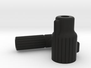 Straight PullBolt for VSR and Copies [Left Handed] in Black Natural Versatile Plastic