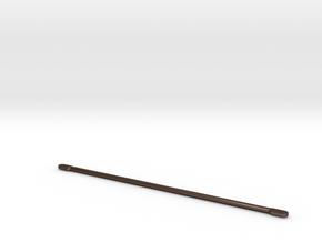Thundershot driveshaft for Brass Sleeves in Polished Bronze Steel