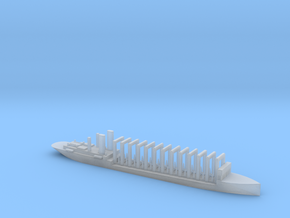 1/2400 Scale AC-3 USS Jupiter 1913 Collier in Smooth Fine Detail Plastic