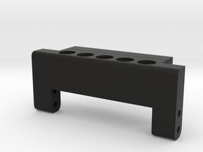 TRX-4 Hinge Mount for PL cage in Black Natural Versatile Plastic