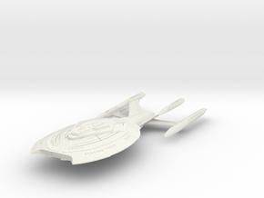 Eminence Class BattleCruiser in White Natural Versatile Plastic