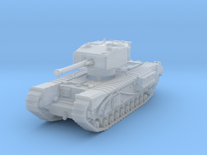 Churchill III 75mm 1/285 in Smooth Fine Detail Plastic