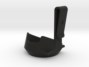 Peak Belt Clip in Black Natural Versatile Plastic