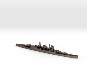 IJN Mogami cruiser 1:2400 WW2 in Polished Bronzed-Silver Steel