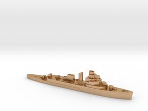 HNLMS Van Kinsbergen sloop 1:2400 WW2 in Natural Bronze