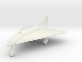 (1:144) Horten Ho.X-B in White Natural Versatile Plastic