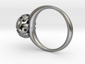 ring_gyroid in Natural Silver