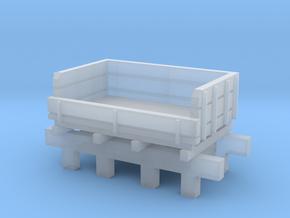 Broad Gauge Ballast Truck (N Scale) in Smooth Fine Detail Plastic