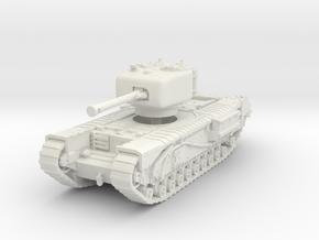 Churchill IV 75mm 1/76 in White Natural Versatile Plastic
