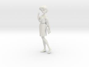 1/12 Student in Uniform Ami EI Ver. in White Natural Versatile Plastic