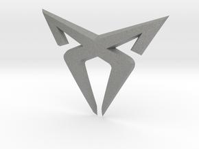 "Leon Cupra Bootlatch ""S"" Badge - Logo Part in Gray PA12"