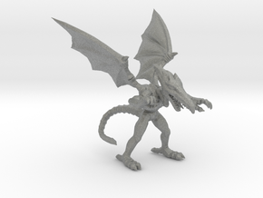 Metroid Ridley 55mm miniature for scifi games rpg in Gray PA12