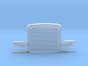 1/24 scale Peterbilt 389  custom grill part in Smooth Fine Detail Plastic