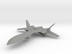 X-Men Jet (Blackbird) 1/400 in Gray PA12
