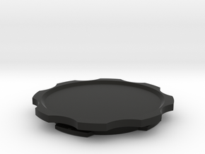 Quad Lock-PopSocket Original Adapter in Black Natural Versatile Plastic
