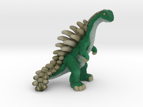 Retrosaur - Spinebacker, Full Color in Natural Full Color Sandstone: Small