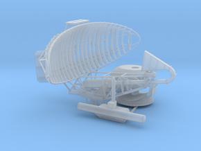 SPQ 502 Radar 1/72 in Smooth Fine Detail Plastic