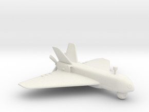 UAV Sperwer - Scale 1:72 in White Natural Versatile Plastic