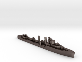 HMS Ilex destroyer 1:1200 WW2 in Polished Bronzed-Silver Steel