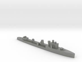 Italian Ostro destroyer WW2 1:1800 in Gray PA12