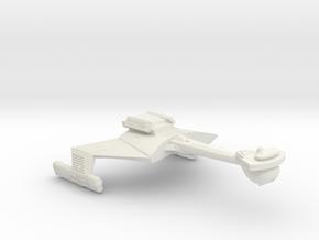 3125 Scale Klingon C7VB Battle Carrier WEM in White Natural Versatile Plastic